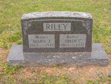 RILEY, JOHN C. - Benton County, Arkansas | JOHN C. RILEY - Arkansas Gravestone Photos