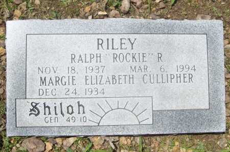 "RILEY, RALPH ""ROCKIE"" R. - Benton County, Arkansas 