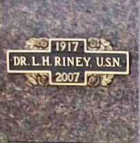 "RINEY (VETERAN WWII), DR. LYMAN HASSLER ""LARRY"" - Benton County, Arkansas | DR. LYMAN HASSLER ""LARRY"" RINEY (VETERAN WWII) - Arkansas Gravestone Photos"