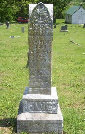 RING, J. A. - Benton County, Arkansas | J. A. RING - Arkansas Gravestone Photos