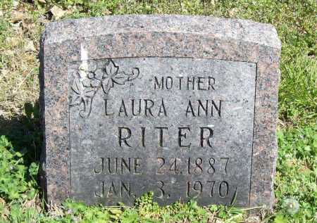 RITER, LAURA ANN - Benton County, Arkansas | LAURA ANN RITER - Arkansas Gravestone Photos