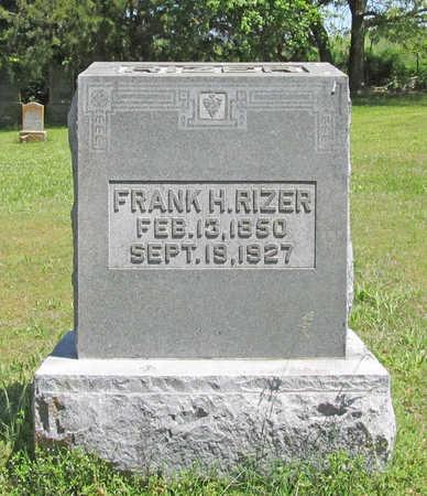 RIZER, FRANK HENRY - Benton County, Arkansas | FRANK HENRY RIZER - Arkansas Gravestone Photos