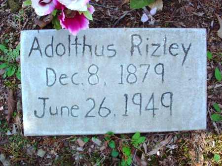 RIZLEY, ADOLPHUS GADEN - Benton County, Arkansas | ADOLPHUS GADEN RIZLEY - Arkansas Gravestone Photos