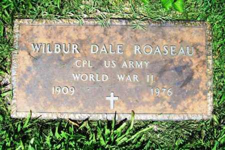 ROASEAU (VETERAN WWII), WILBUR DALE - Benton County, Arkansas | WILBUR DALE ROASEAU (VETERAN WWII) - Arkansas Gravestone Photos