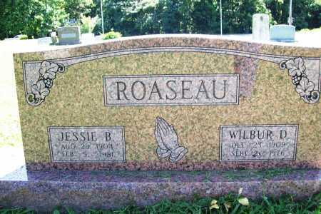 ROASEAU, WILBUR D. - Benton County, Arkansas | WILBUR D. ROASEAU - Arkansas Gravestone Photos