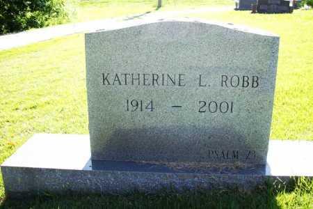 ROBB, KATHERINE L. - Benton County, Arkansas | KATHERINE L. ROBB - Arkansas Gravestone Photos