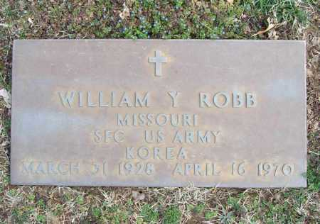 ROBB (VETERAN KOR), WILLIAM Y - Benton County, Arkansas | WILLIAM Y ROBB (VETERAN KOR) - Arkansas Gravestone Photos