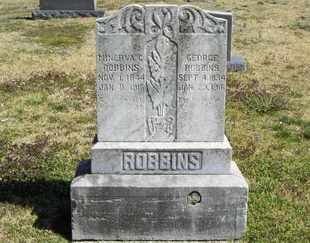 ROBBINS, GEORGE - Benton County, Arkansas | GEORGE ROBBINS - Arkansas Gravestone Photos