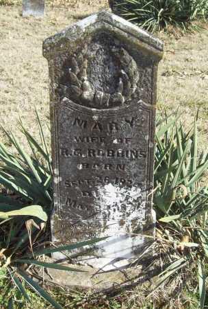 ROBBINS, MARY - Benton County, Arkansas | MARY ROBBINS - Arkansas Gravestone Photos
