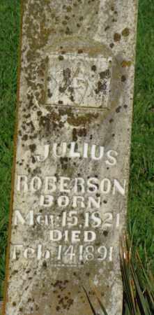 ROBERSON, JULIUS - Benton County, Arkansas | JULIUS ROBERSON - Arkansas Gravestone Photos