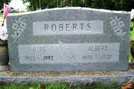ROBERTS, ALBERT - Benton County, Arkansas | ALBERT ROBERTS - Arkansas Gravestone Photos