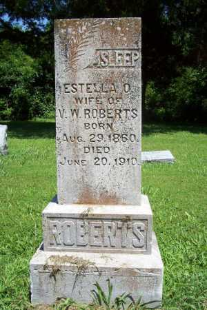 ROBERTS, ESTELLA O - Benton County, Arkansas | ESTELLA O ROBERTS - Arkansas Gravestone Photos