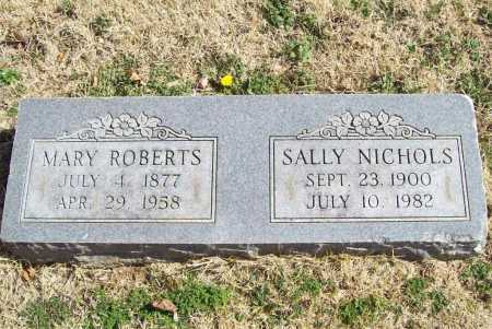 ROBERTS, MARY - Benton County, Arkansas | MARY ROBERTS - Arkansas Gravestone Photos