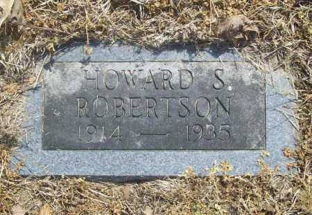 ROBERTSON, HOWARD S. - Benton County, Arkansas | HOWARD S. ROBERTSON - Arkansas Gravestone Photos