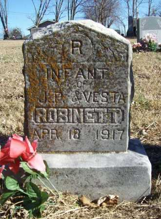 ROBINETT, INFANT DAUGHTER - Benton County, Arkansas | INFANT DAUGHTER ROBINETT - Arkansas Gravestone Photos