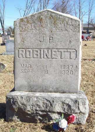 ROBINETT, J. P. - Benton County, Arkansas | J. P. ROBINETT - Arkansas Gravestone Photos