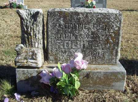 ROBINETT, LOTTIE RENA - Benton County, Arkansas | LOTTIE RENA ROBINETT - Arkansas Gravestone Photos