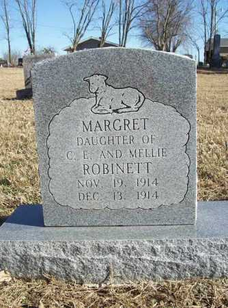 ROBINETT, MARGRET - Benton County, Arkansas | MARGRET ROBINETT - Arkansas Gravestone Photos