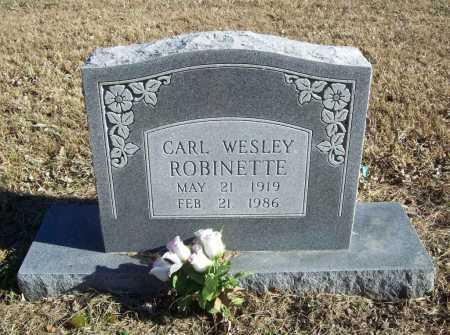 ROBINETTE, CARL WESLEY - Benton County, Arkansas | CARL WESLEY ROBINETTE - Arkansas Gravestone Photos