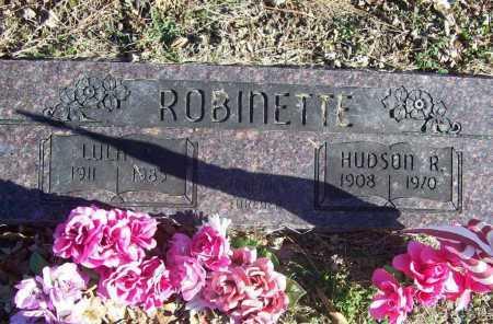 ROBINETTE, HUDSON R. - Benton County, Arkansas | HUDSON R. ROBINETTE - Arkansas Gravestone Photos