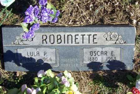 ROBINETTE, OSCAR E. - Benton County, Arkansas | OSCAR E. ROBINETTE - Arkansas Gravestone Photos