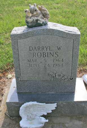 ROBINS, DARRYL W. - Benton County, Arkansas | DARRYL W. ROBINS - Arkansas Gravestone Photos