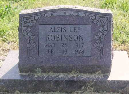 ROBINSON, ALFIS LEE - Benton County, Arkansas | ALFIS LEE ROBINSON - Arkansas Gravestone Photos