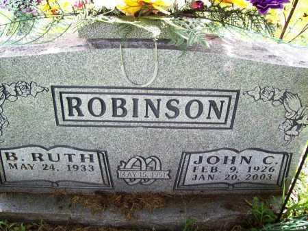 ROBINSON, JOHN C. - Benton County, Arkansas | JOHN C. ROBINSON - Arkansas Gravestone Photos
