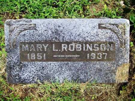 ROBINSON, MARY L. - Benton County, Arkansas | MARY L. ROBINSON - Arkansas Gravestone Photos
