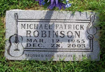 ROBINSON, MICHAEL PATRICK - Benton County, Arkansas | MICHAEL PATRICK ROBINSON - Arkansas Gravestone Photos