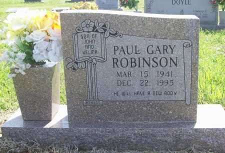ROBINSON, PAUL GARY - Benton County, Arkansas | PAUL GARY ROBINSON - Arkansas Gravestone Photos