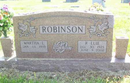 ROBINSON, RUBY LUIE - Benton County, Arkansas | RUBY LUIE ROBINSON - Arkansas Gravestone Photos