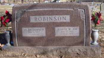 "ROBINSON, JOSEPH WILLIAM ""JOE"" - Benton County, Arkansas 