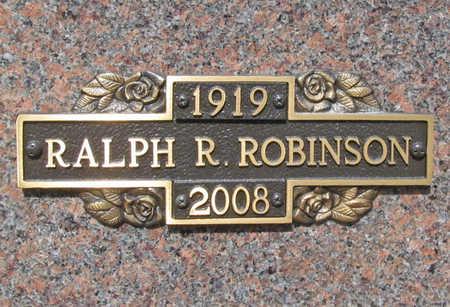 ROBINSON (VETERAN WWII), RALPH RAYMOND - Benton County, Arkansas   RALPH RAYMOND ROBINSON (VETERAN WWII) - Arkansas Gravestone Photos