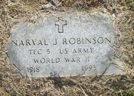 ROBINSON (VETERAN WWII), NARVAL JOHN - Benton County, Arkansas | NARVAL JOHN ROBINSON (VETERAN WWII) - Arkansas Gravestone Photos