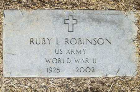 ROBINSON (VETERAN WWII), RUBY LUIE - Benton County, Arkansas | RUBY LUIE ROBINSON (VETERAN WWII) - Arkansas Gravestone Photos