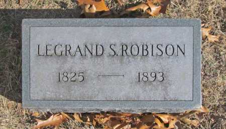 ROBISON, LEGRAND S (REPLACEMENT) - Benton County, Arkansas | LEGRAND S (REPLACEMENT) ROBISON - Arkansas Gravestone Photos