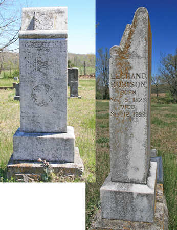 ROBISON, LEGRAND (ORIGINAL) - Benton County, Arkansas | LEGRAND (ORIGINAL) ROBISON - Arkansas Gravestone Photos