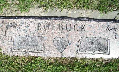 ROEBUCK, PAUL R. - Benton County, Arkansas | PAUL R. ROEBUCK - Arkansas Gravestone Photos