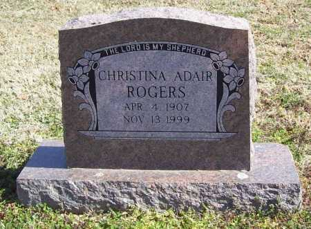 HOWE ROGERS, CHRISTINA ADAIR - Benton County, Arkansas | CHRISTINA ADAIR HOWE ROGERS - Arkansas Gravestone Photos