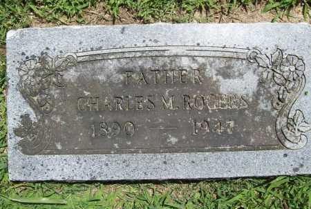 ROGERS, CHARLES M. - Benton County, Arkansas | CHARLES M. ROGERS - Arkansas Gravestone Photos
