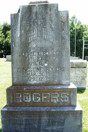 ROGERS, ERNESTINE - Benton County, Arkansas | ERNESTINE ROGERS - Arkansas Gravestone Photos