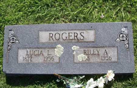 ROGERS, RILEY A. - Benton County, Arkansas | RILEY A. ROGERS - Arkansas Gravestone Photos