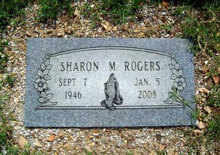 ROGERS, SHARON M. - Benton County, Arkansas | SHARON M. ROGERS - Arkansas Gravestone Photos