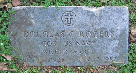 ROGERS (VETERAN WWII), DOUGLAS G - Benton County, Arkansas | DOUGLAS G ROGERS (VETERAN WWII) - Arkansas Gravestone Photos