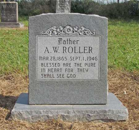 ROLLER, A. W. - Benton County, Arkansas | A. W. ROLLER - Arkansas Gravestone Photos