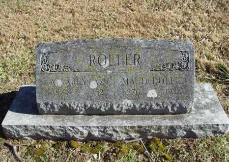"ROLLER, MAUD ""DOLLIE"" - Benton County, Arkansas 