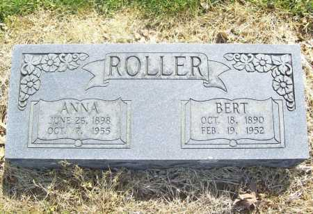 ROLLER, BERT - Benton County, Arkansas | BERT ROLLER - Arkansas Gravestone Photos