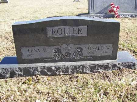 ROLLER, DONALD W. - Benton County, Arkansas | DONALD W. ROLLER - Arkansas Gravestone Photos