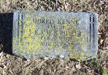 ROLLER, DORRIS KENNE - Benton County, Arkansas | DORRIS KENNE ROLLER - Arkansas Gravestone Photos